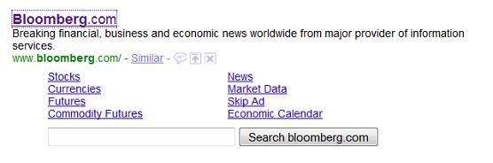 Bloombergs Skip Ad Sitelink