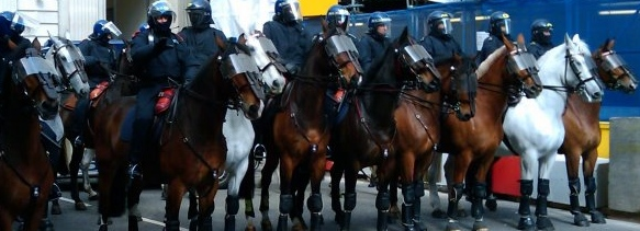 Riot Police - G20 Riots in London
