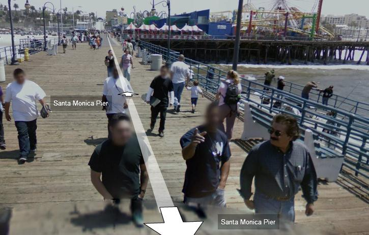 Man with Bushy Moustache and Sunglasses is not Blurred Out by Google