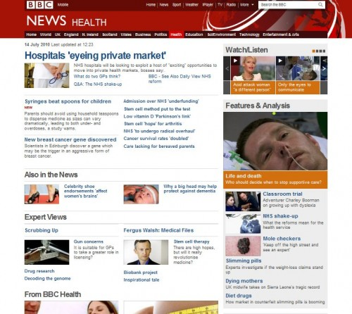 New BBC News Design
