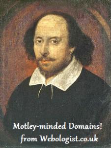 Shakespeare Domains