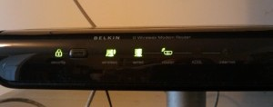 Belkin router with wireless