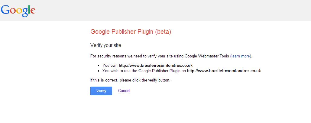 Google publisher plugin 0.2