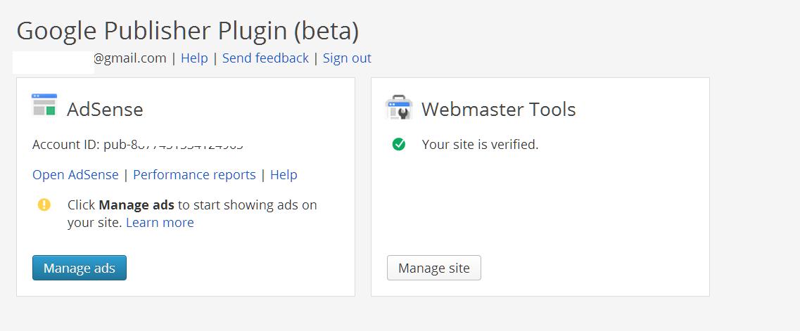 Google publisher plugin 0.5