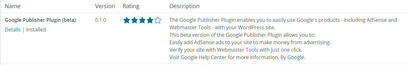 Google publisher plugin 7