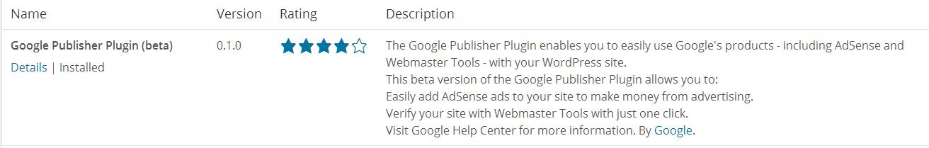 Google publisher plugin 7