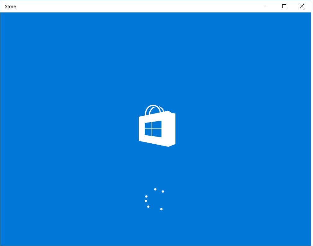 Microsoft Store Windows 10 not working