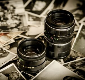 photographs and lenses